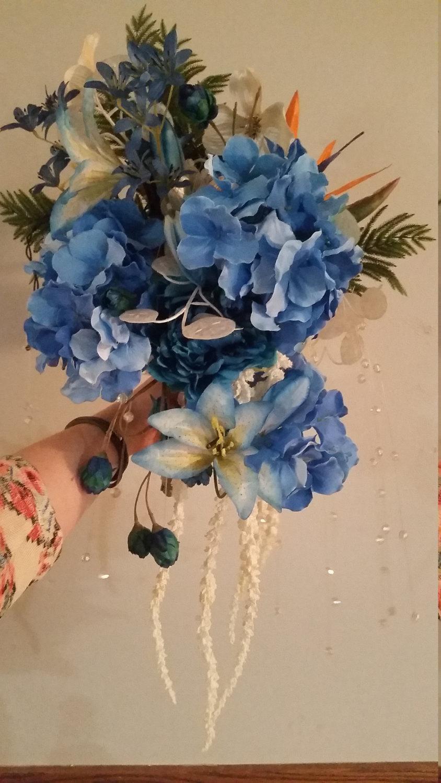 Hochzeit - Large Floral Bouquet