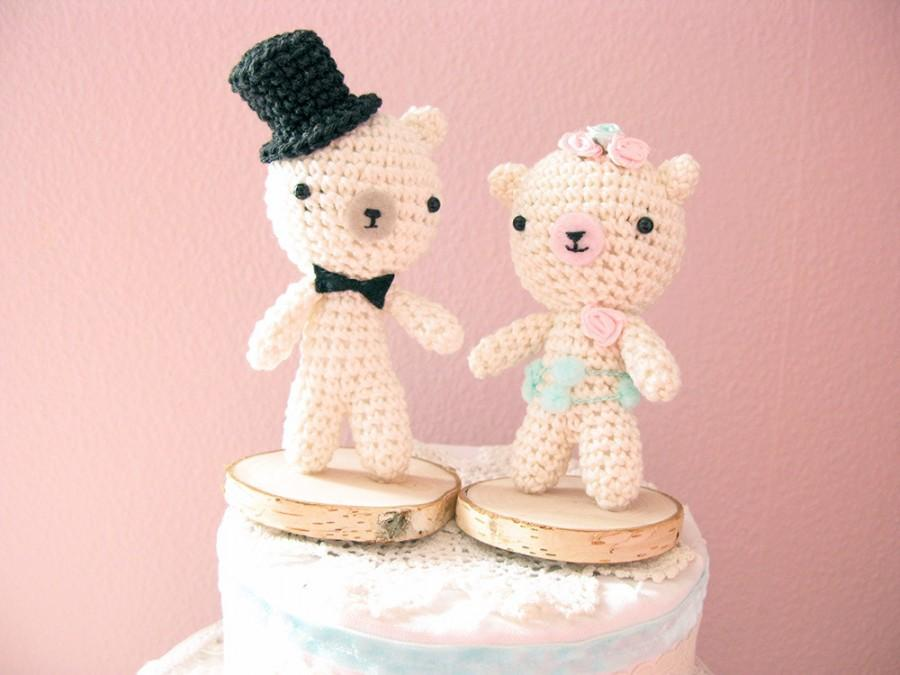 Bears Wedding Cake Topper