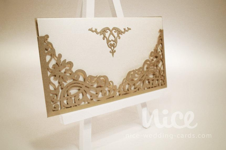 Wedding - digital.SVG file - VERSAL laser cut ENVELOPE for cutting machines