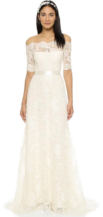 Свадьба - Marchesa Zinnia Gown