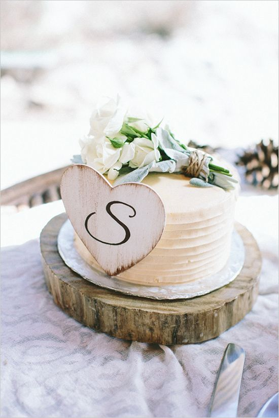 Wedding Theme - 7 Sweet Simple Wedding Cakes #2477839 - Weddbook