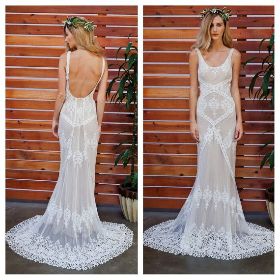 Dress - Cecilia Lace Bohemian Wedding Dress #2478081 - Weddbook
