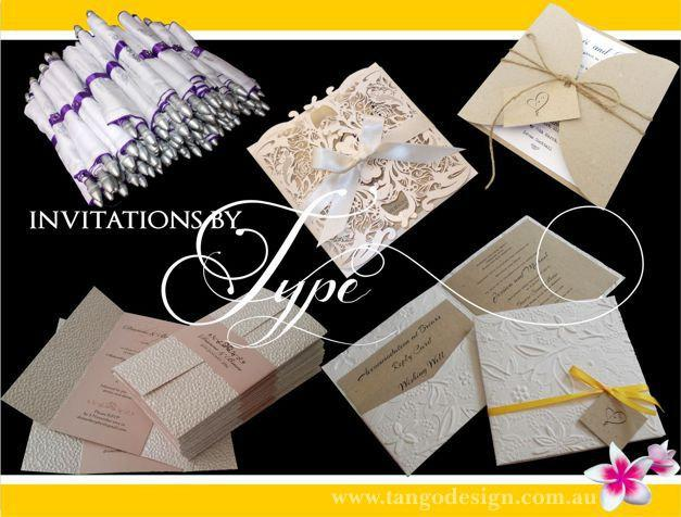 Sample Pack Wedding Invitations RSVP Cards Metallic Cardstock