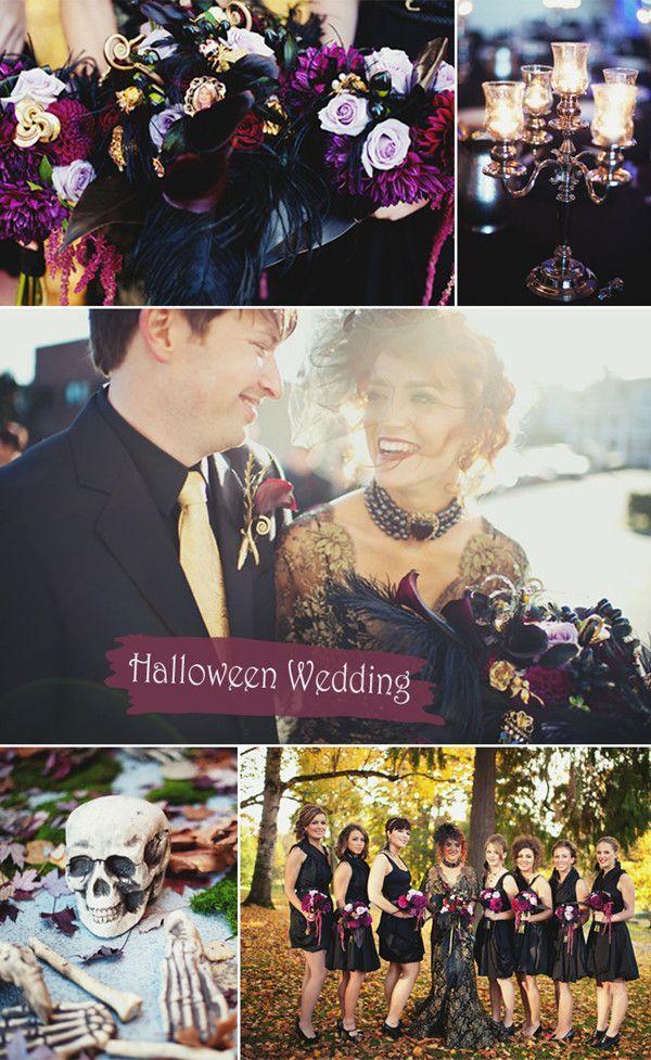 Top 8 Halloween Themed Wedding Ideas And Wedding Invitations
