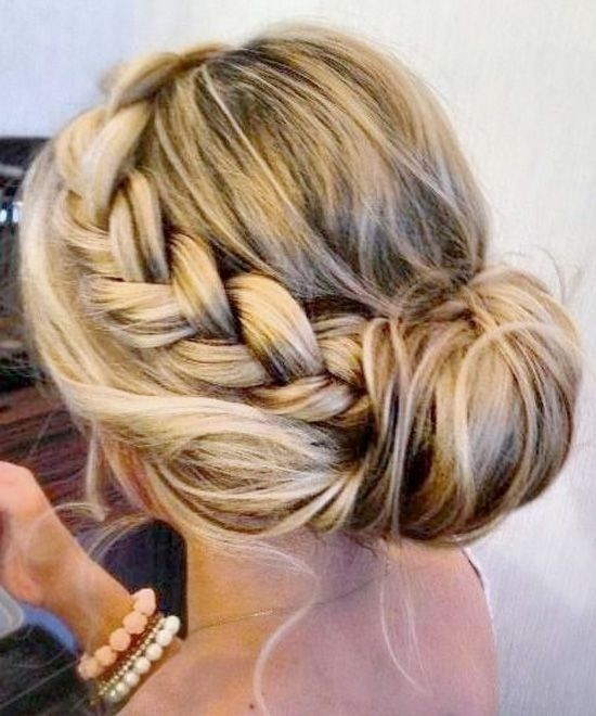 Hair 20 Pretty Braided Updo Hairstyles 2478633 Weddbook