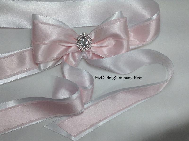 زفاف - Wedding Sash Pink Wedding Belt Easter Wedding Pink Flower Girl Sash Pink Bridesmaid Dress Wedding Belt Pink Bridal Sash Quinceanera Prom