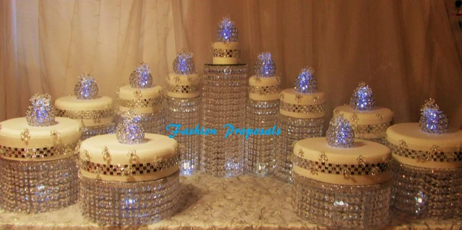 Wedding Cake Stand Sets