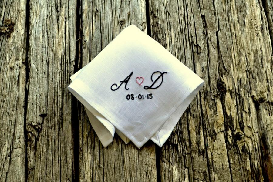 Sweetheart Handkerchief, New Couple Wedding Hankerchief