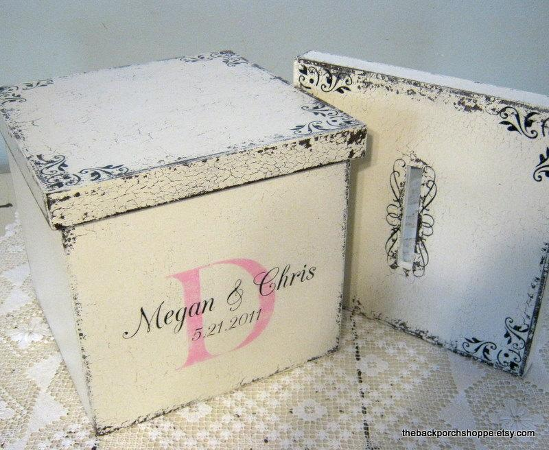 Hochzeit - WEDDING Cards / KEEPSAKE / MEMORY Box with 2 Interchangable lids / Custom Made
