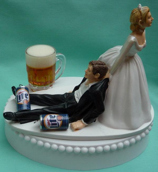 Dallas Cowboys Wedding Cake Topper