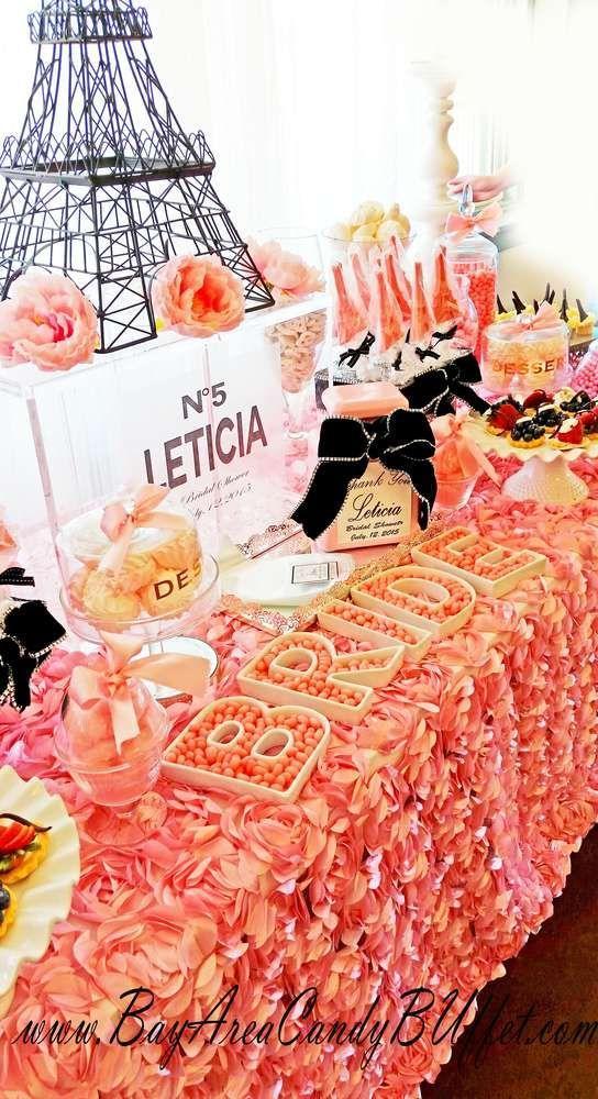 Mariage - French / Parisian Bridal/Wedding Shower Party Ideas
