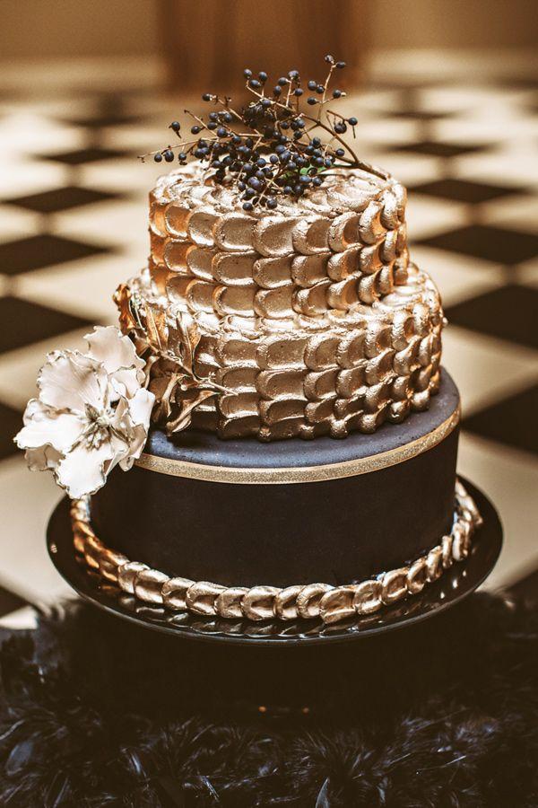 Свадьба - Black And Gold New Year's Eve Wedding
