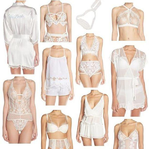 Mariage - Wedding Wednesday: Nordstrom Bridal Lingerie