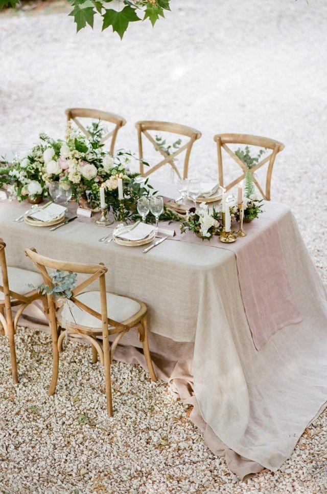 Hochzeit - Intimate Wedding Inspiration In Southern France
