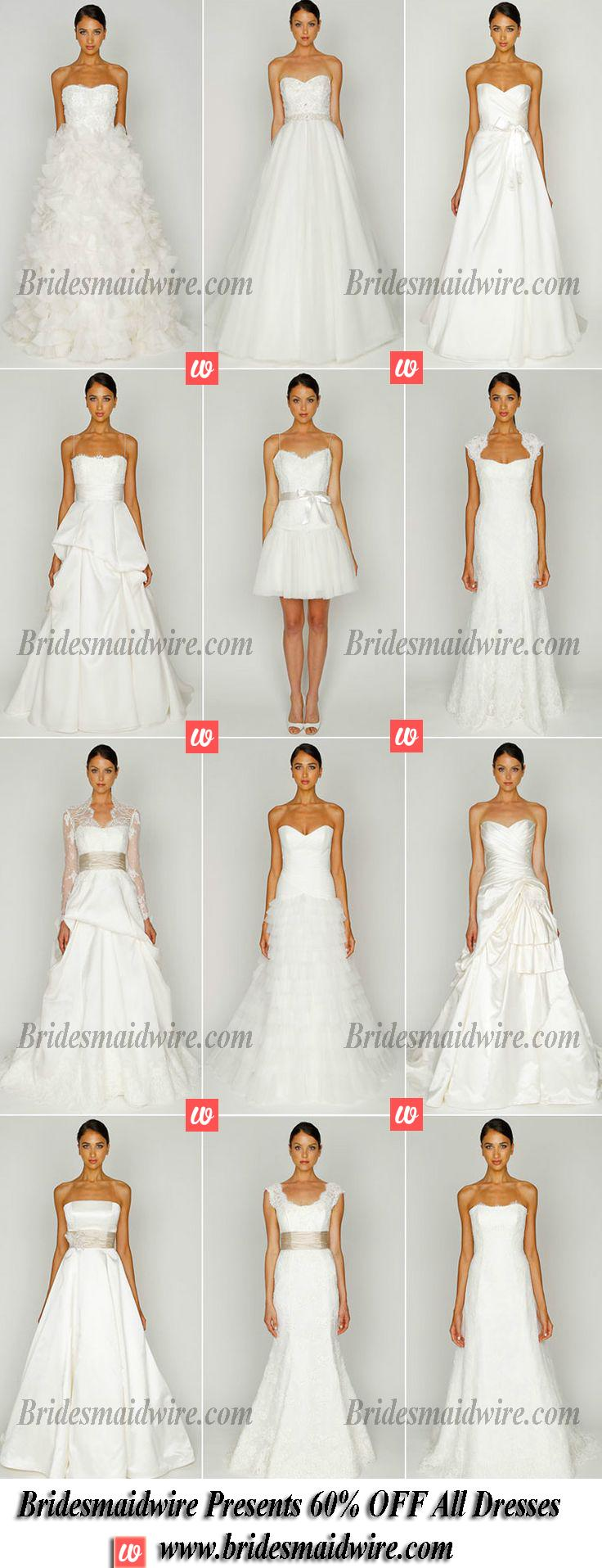 Свадьба - WHITE/IVORY BRIDESMAID DRESSES