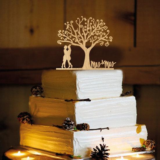 Свадьба - Lesbian Cake Topper - same sex, Lesbian Party