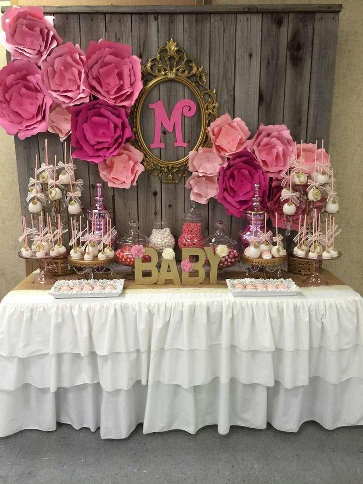 Wedding - It's A Girl Baby Shower Party Ideas