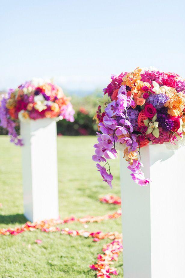 Свадьба - Glamorous Hawaii Destination Wedding