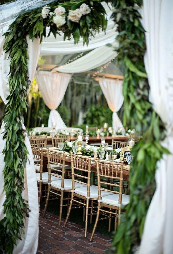 Wedding - 21 Pretty Garden Wedding Ideas For 2016