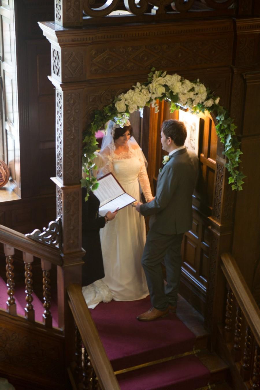Свадьба - Wedding Arch Swag, Extra Large Wedding Swag, Church Swag, Rustic Wedding Swag, Arbor Swag, Church Wedding Swag