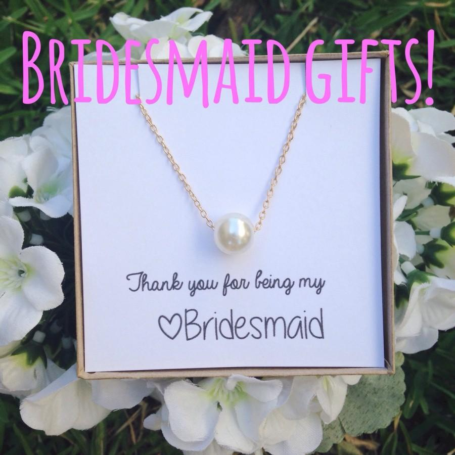 Mariage - Bridemaid gifts! You choose the saying and the jewlery!