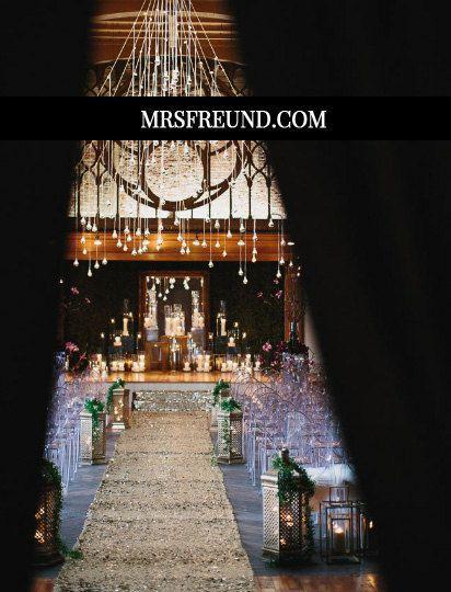 Wedding - Sequin Aisle Runner (Custom Lengths & Widths Available!)