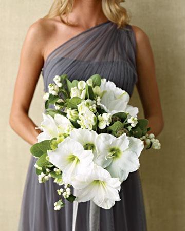 White Wedding Bouquets Martha Weddings Flowers