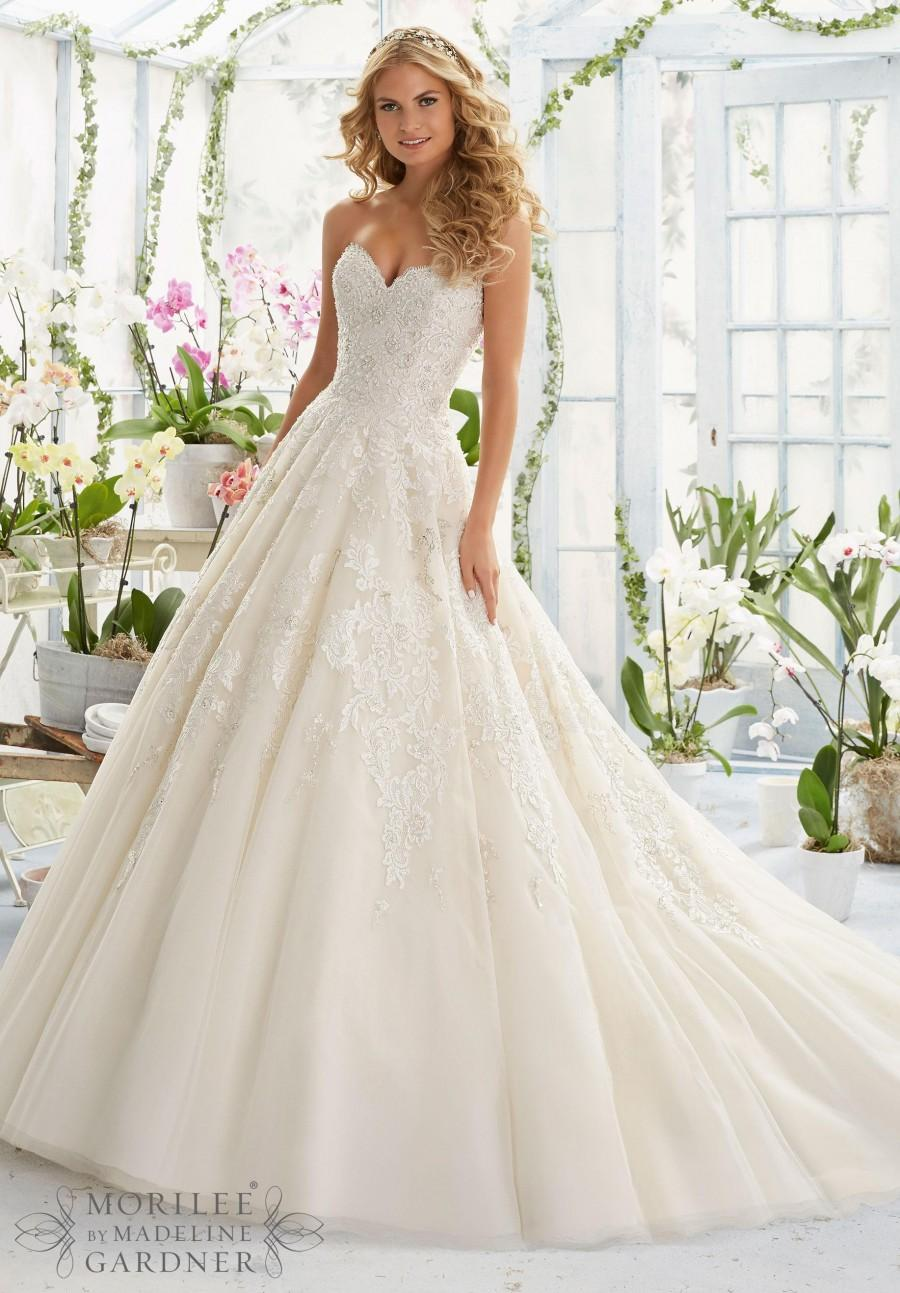 New arrival wedding dresses 2016 fitted sweetheart tulle for Shop online wedding dresses
