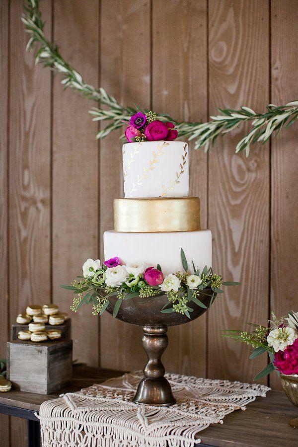 Свадьба - Elegant Bohemian Wedding Inspiration