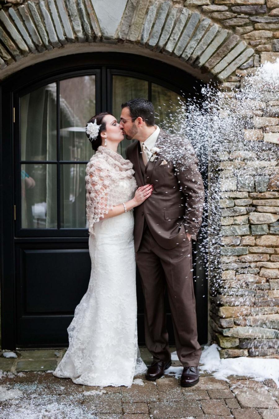 زفاف - Bridal Wrap,Shawl,Wedding Shawl,Bridal accessories,Bridal Shawl,Bridal Bolero,Winter Wedding,Crochet Shawl