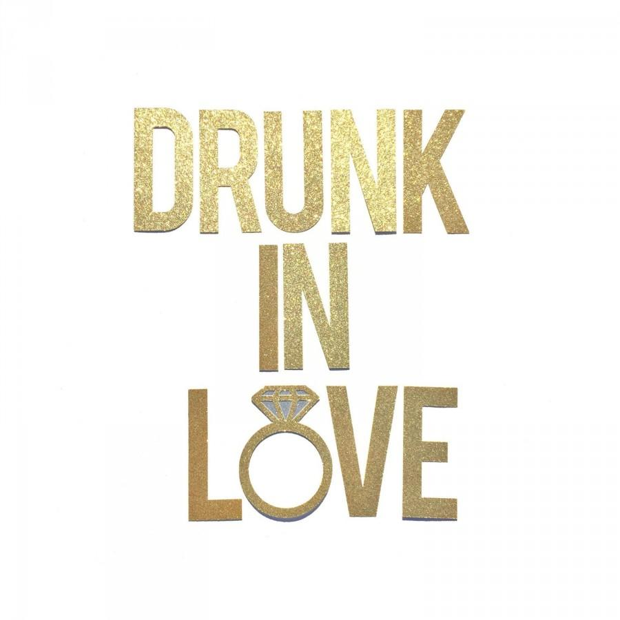 Drunk In Love Banner Sign // Bachelorette Party Banner ...