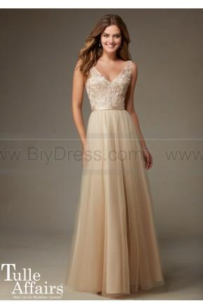 Свадьба - Mori Lee Bridesmaids Dress Style 134