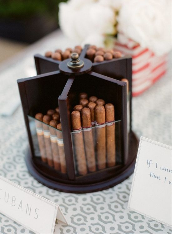 Hochzeit - From A Beer Bar To A Cigar Bar: 5 Cool Reception Ideas Your Groom Will Love