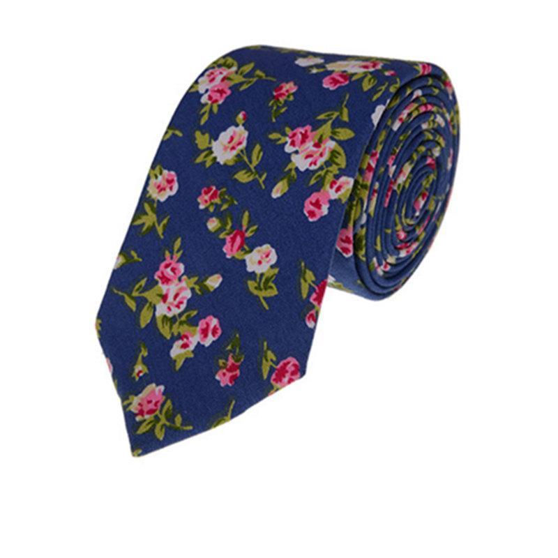 Mariage - Mens Ties.Skinny Necktie Wedding Tie.Floral Ties .