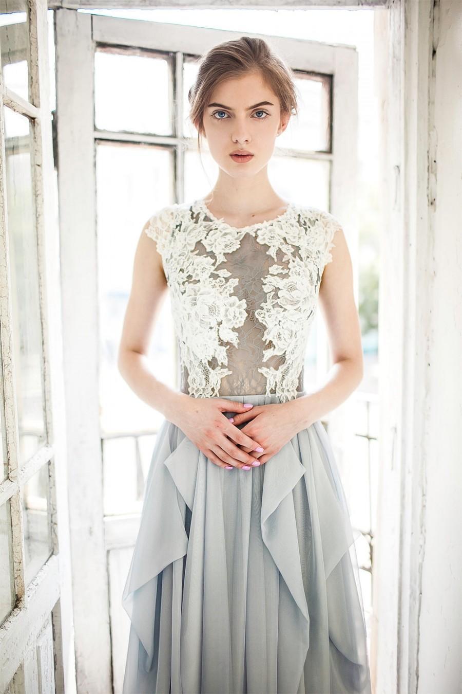 Wedding - Grey wedding dress // Iris