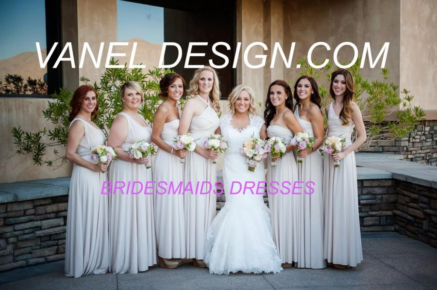 Mariage - EXPRESS SHIPPING- Infinity Dress, Bridesmaids Dresses, Wrap Dresses, Convertible dresses, Wedding Gown