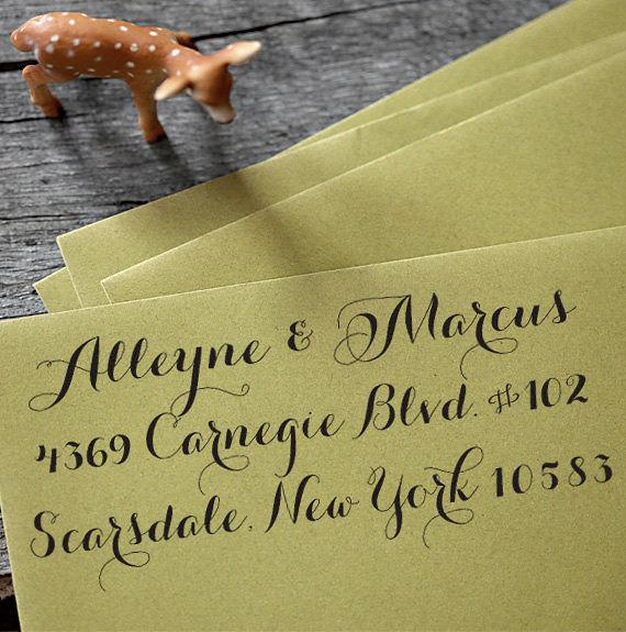 زفاف - Self Inking Address Stamp - Calligraphy Stamp - wedding personal housewarming gift - 1005