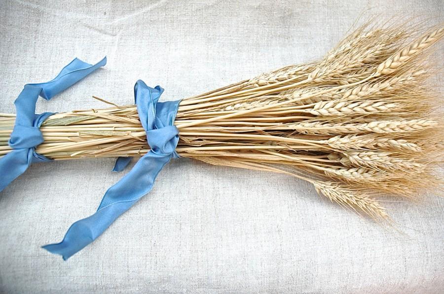 Hochzeit - Western Wedding Golden Wheat Bouquet