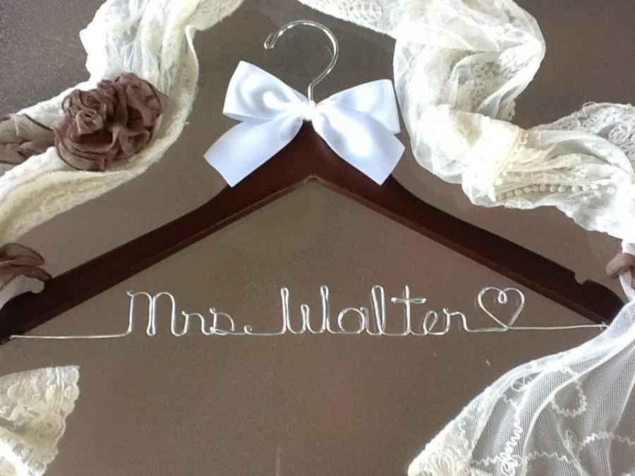 sale sale personalized bridal hanger perfect bridal shower gift u pick any name bridal party gift