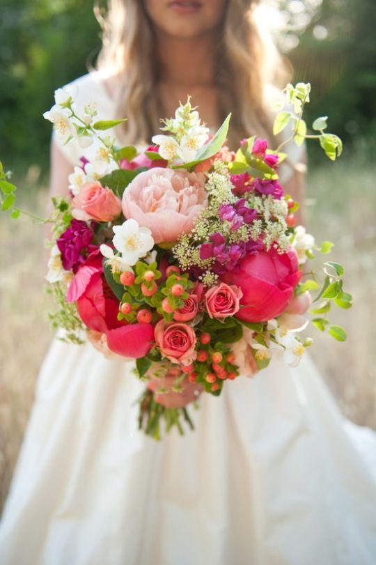 40 Ideas For Fresh Flower Wedding Bouquets #2481642 - Weddbook
