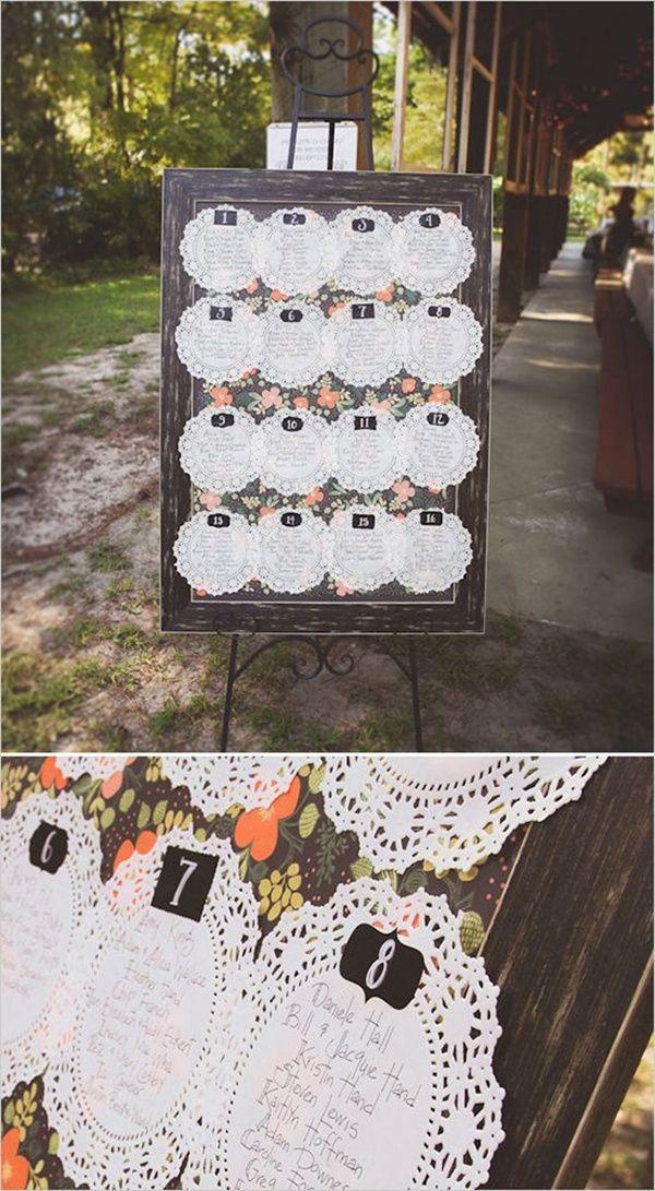 Свадьба - Table Plans & Escort Cards