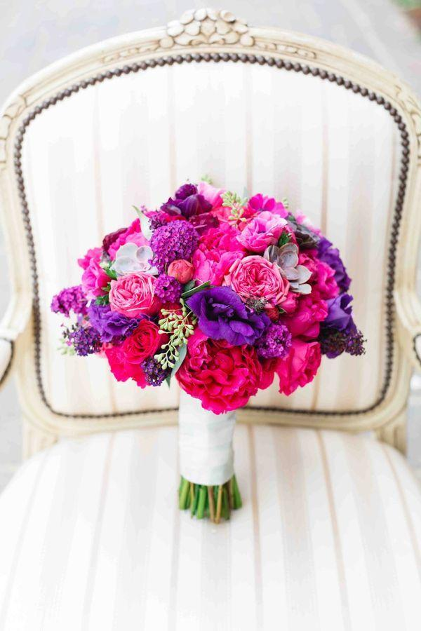 Свадьба - Vibrant Purple California Vineyard Wedding