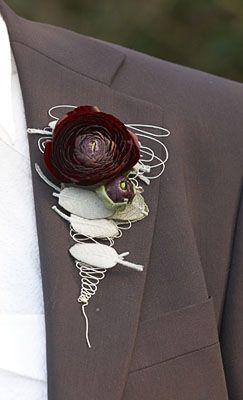 Hochzeit - Bouquet & Boutonniere Inspiration