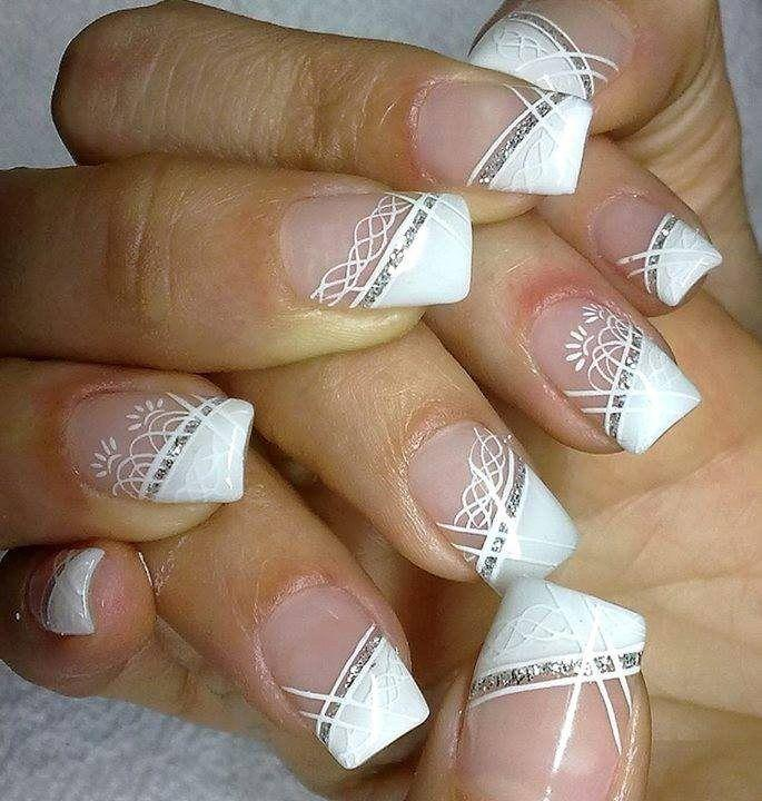 Wedding Nail Designs #2 - Weddbook