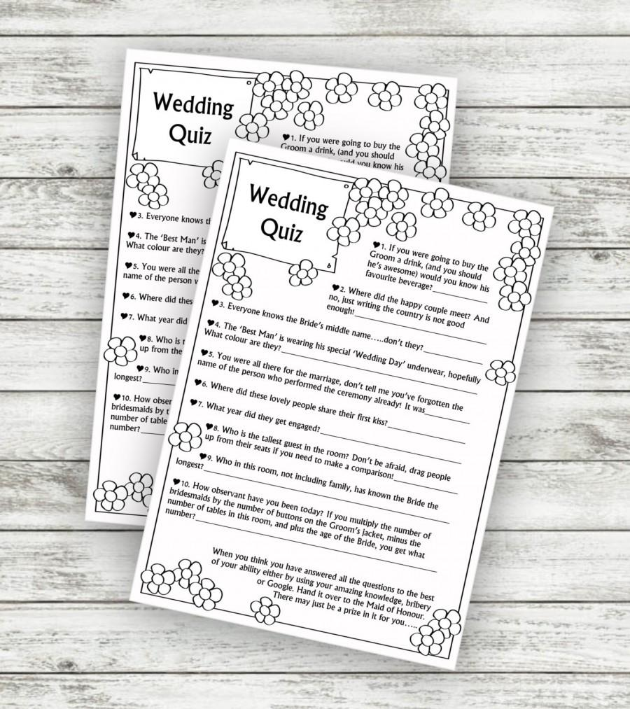 Amazing Wedding Theme Quiz Collection - The Wedding Ideas ...