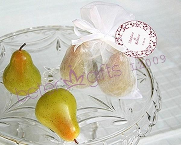 Свадьба - LZ009 Meant to Be Pear Candles Wedding party bridal favor