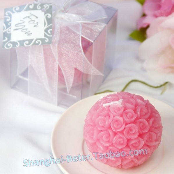 Wedding - LZ005/A Rose Ball Candle Favor Bridal Wedding Dress Crafts