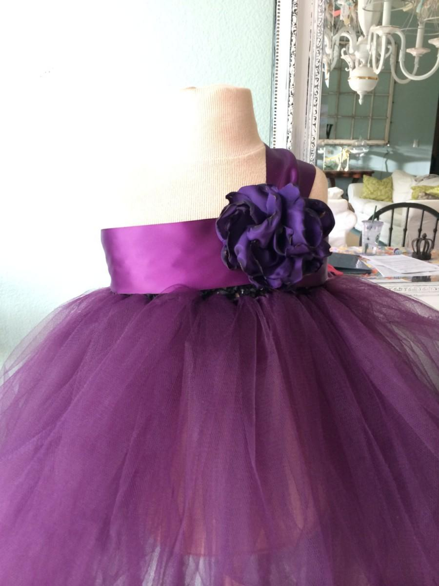 Mariage - Tutu-Flower girl, Junior Bridesmaid, Tutu, Dress, Special Occasion-Special Order