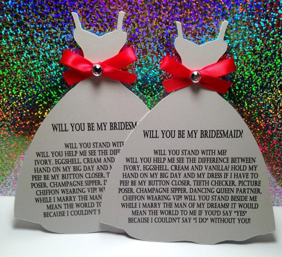 Mariage - Will you be my Bridesmaid?