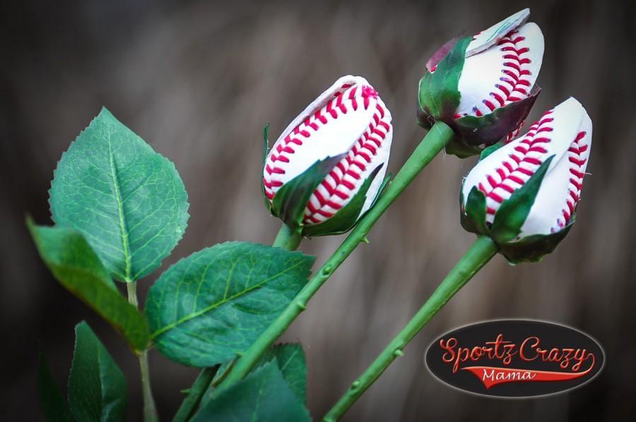 Wedding - Baseball Rose